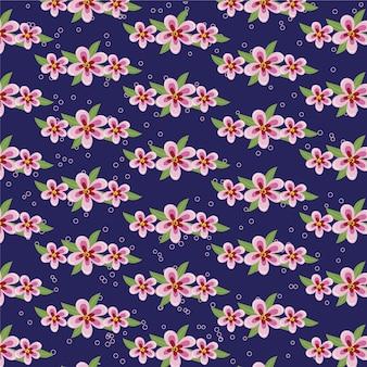 Японские паттеры с цветами