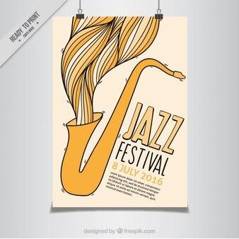 Jazz festival flyer