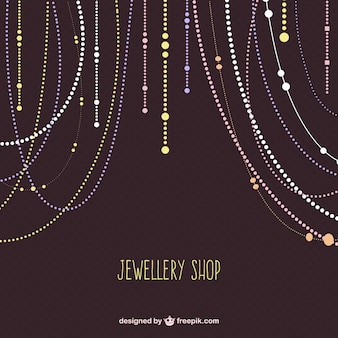 Jewellery shop vector