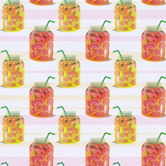 Juice pattern background