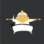 Karate expert icon
