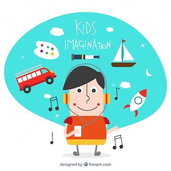 Kid imagination