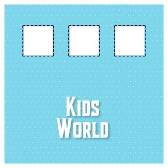 Kids world background