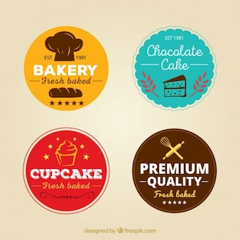 Kind of bakery labels