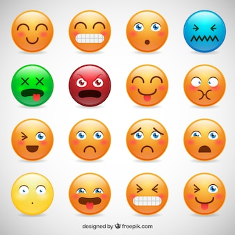 Kinds of smiley collection