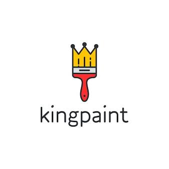 King Paint Logo