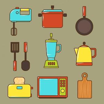 Kitchen elements collection