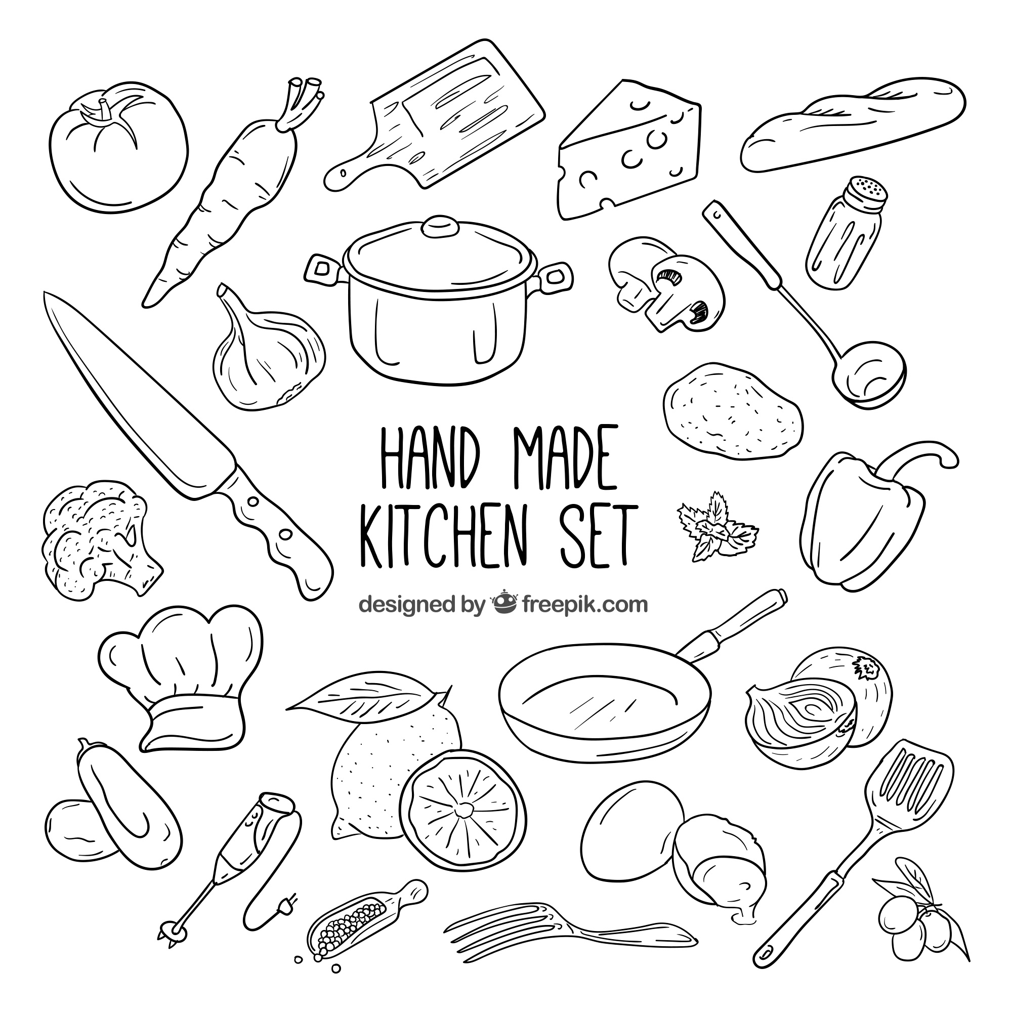 Kitchen elements collection
