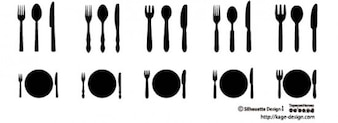 Knife and forks