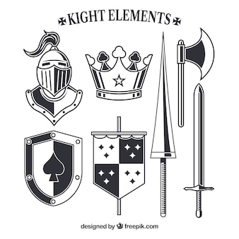 Knight elements with elegant style