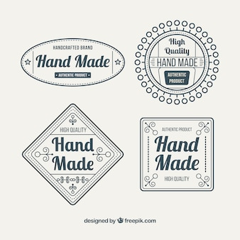 Labels about crafts