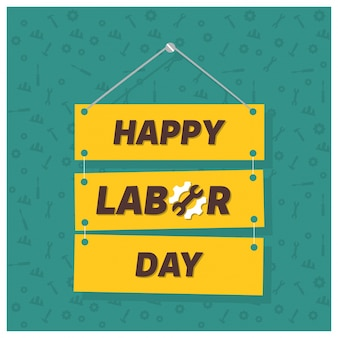 Labor day banner background