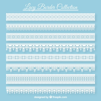 Lace borders pack