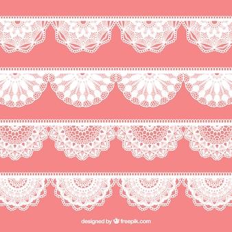 Lace decoration pack
