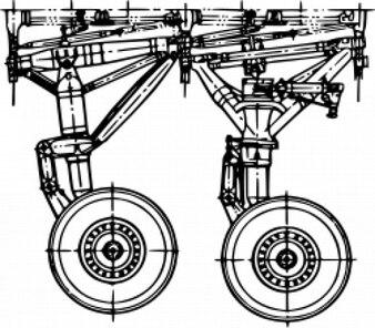 landing gear - Antonov AN-225 [Mria]