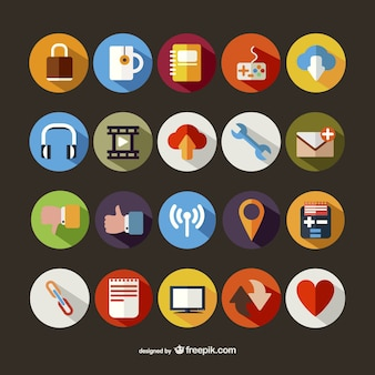 Large round icons pack