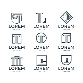 Law logo collection