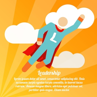 Leadership background design