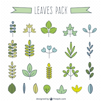 Leaf type collection