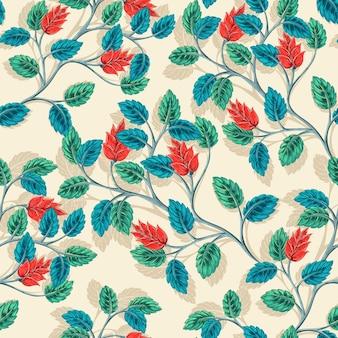 Leaves Branch Pattern