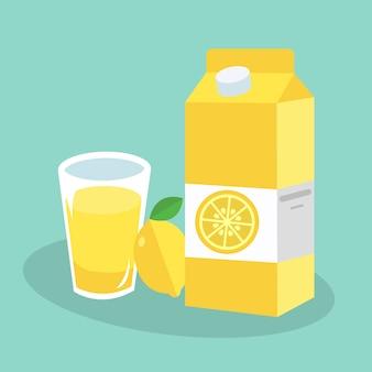 Lemon juice background