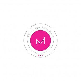 Letter m badge logo