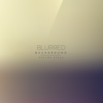 Light background, blur effect
