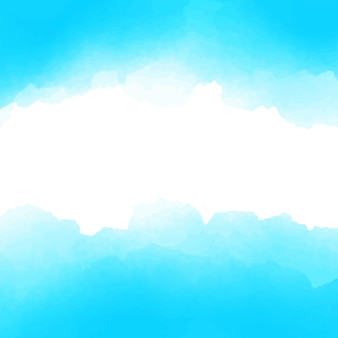 Light blue and white watercolor background design