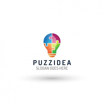 Light Bulb Logo Template