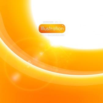 Light white solar futuristic sunrise