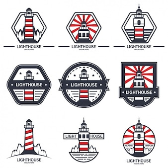 Lighthouse logo templates