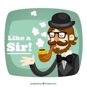 Like a sir!