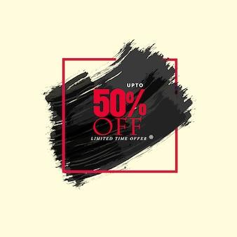 Limited offer water color black background