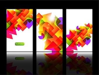 Line label concept digital banner