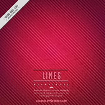Lines background in red color