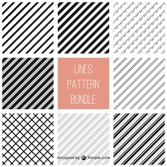 Lines pattern bundle