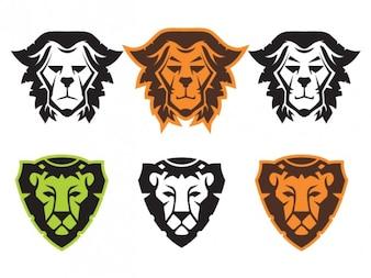 Lion Head symbols