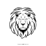 Lion heart icon