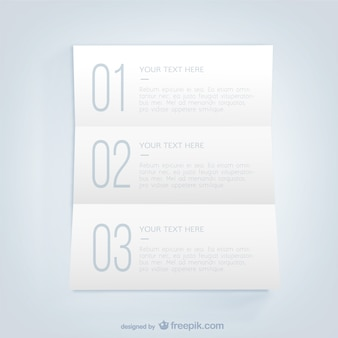 List infographic template