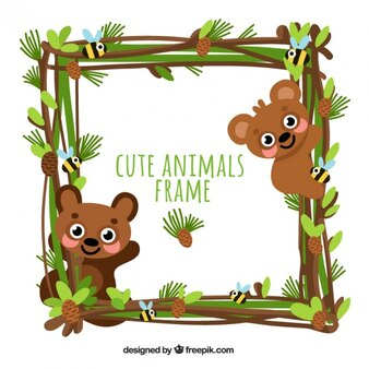Little bears frame