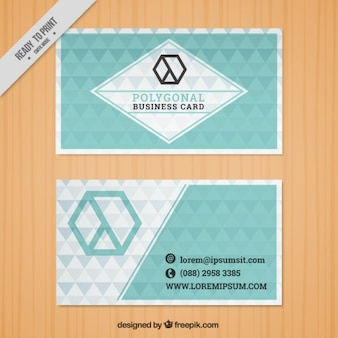 Little triangles business card