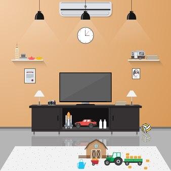Livingroom background design