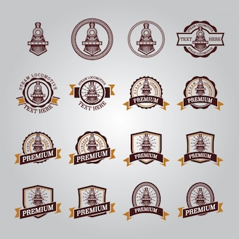 Locomotive badges collection