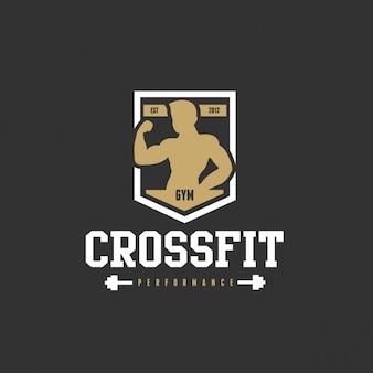 Logo for a gym