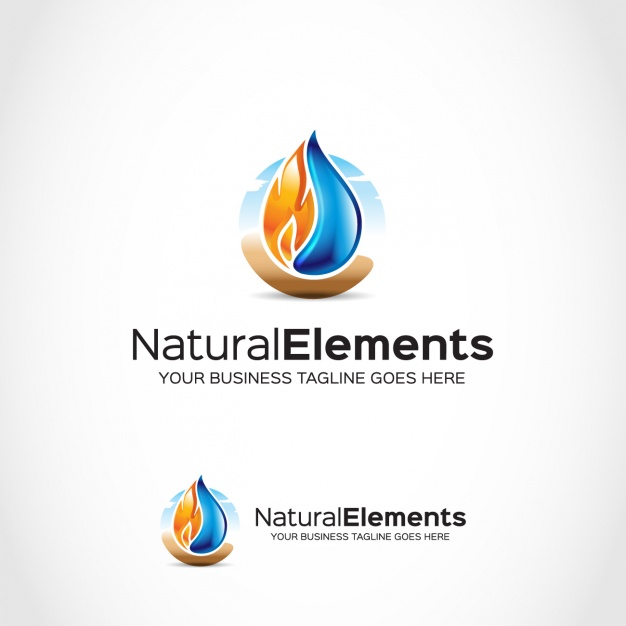 Logo template design