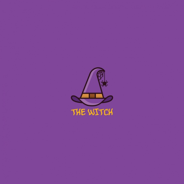 Logo with a witch hat