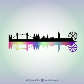London cityscape background