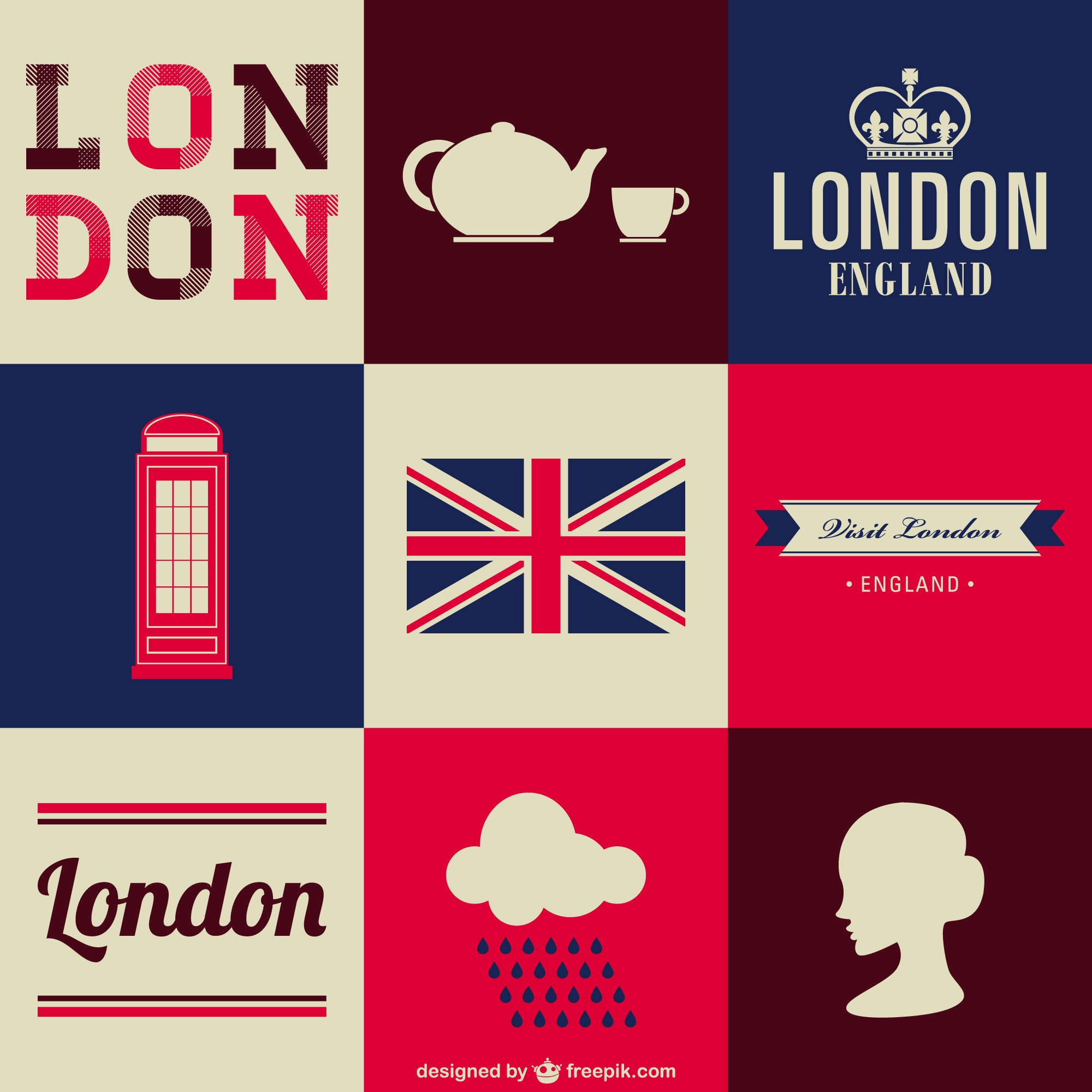 London elements background