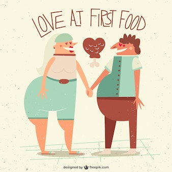 Love at first food