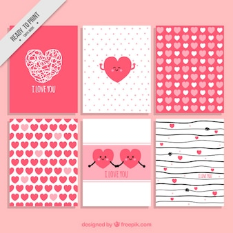 Love card collection for a special day